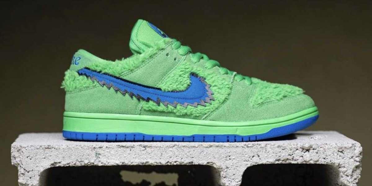 Upcoming Nike SB Dunk Low Grateful Dead Bears Green Blue