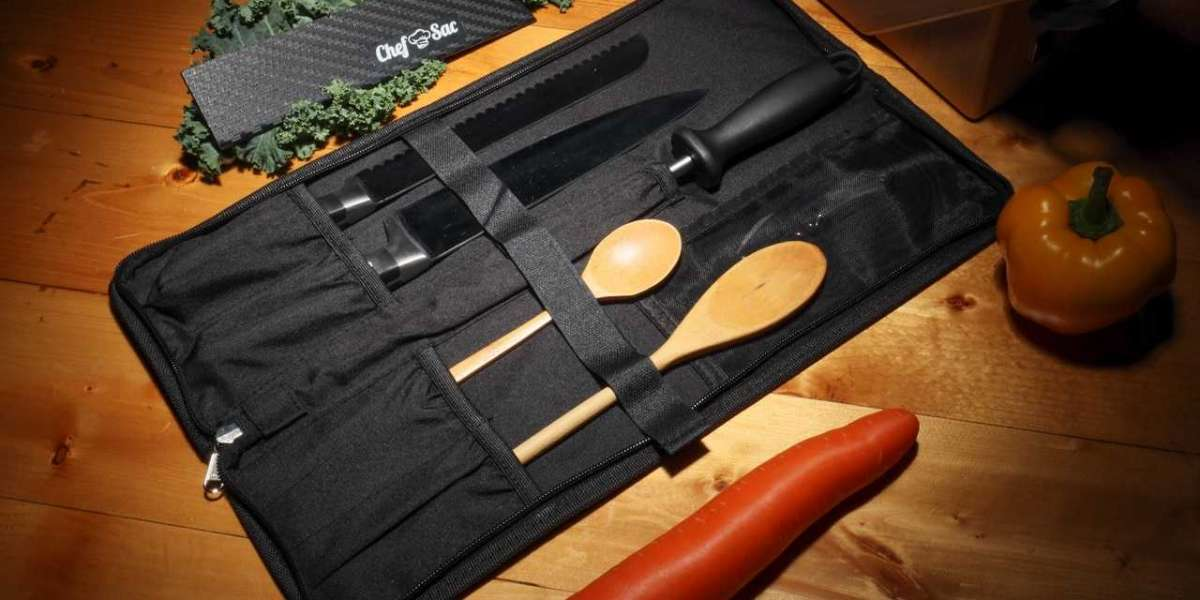 Buy Knife Roll at the Chef Sac website.