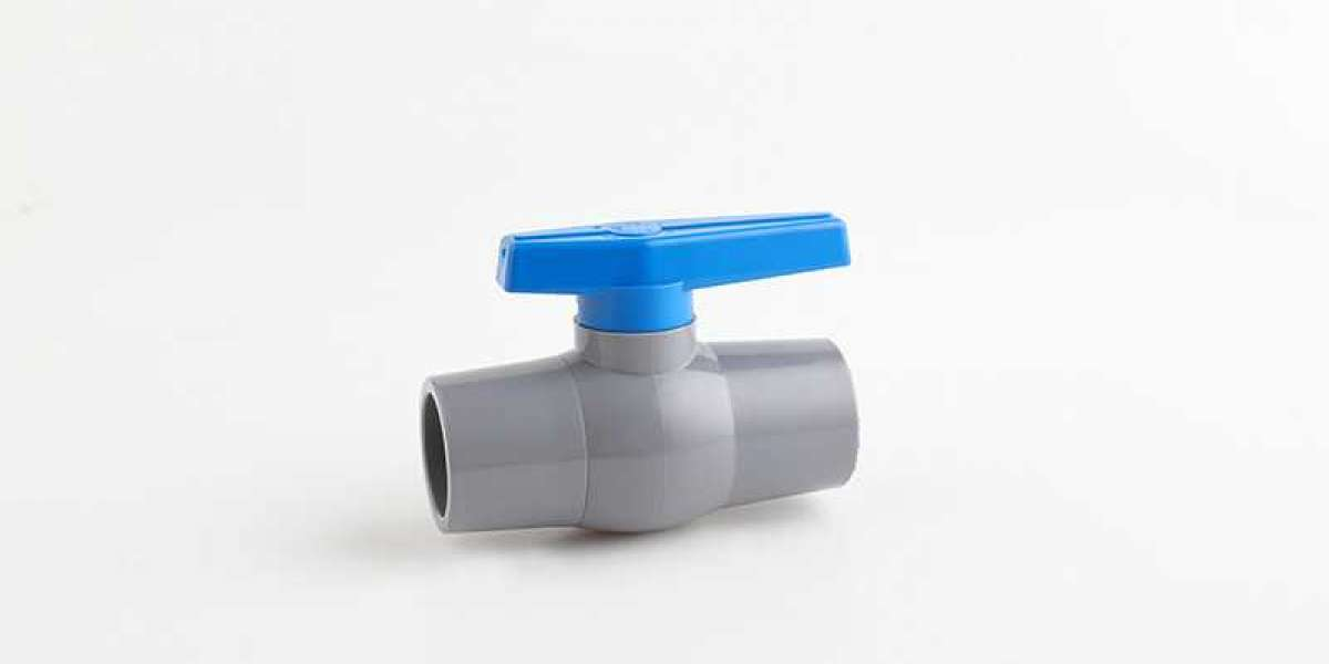 Pvc Ball Valve Used In Piping System