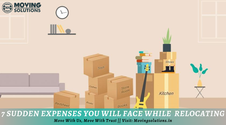 7 Sudden Expenses You Will Face While Relocating - Blog View - GoScoutMe