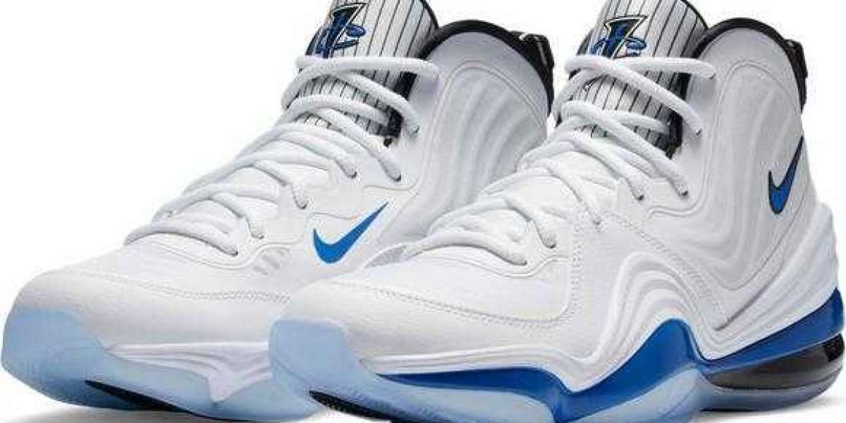 """Where can buy the Nike Air Penny 5 """"White/Royal Blue/Black"""" Basketball Shoe?"""
