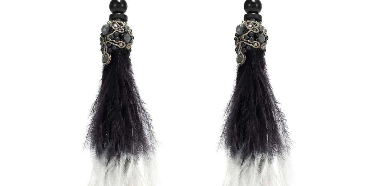 Handcrafted Statement Dangling Earrings