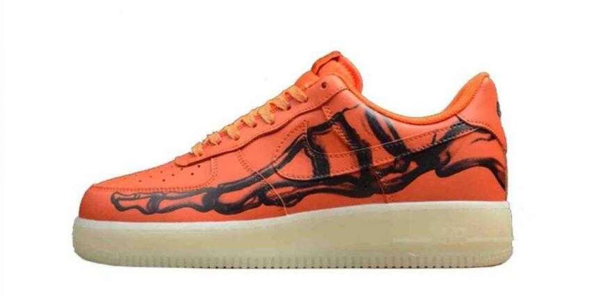 Nike Air Force 1 Skeleton Brilliant Orange to Arrive on October 28, 2020