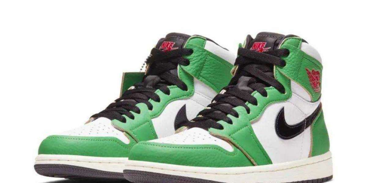 "DB4612-300 Air Jordan 1 ""Heineken"" Color Matching 12 Stores Open The lottery, Speed registration!"