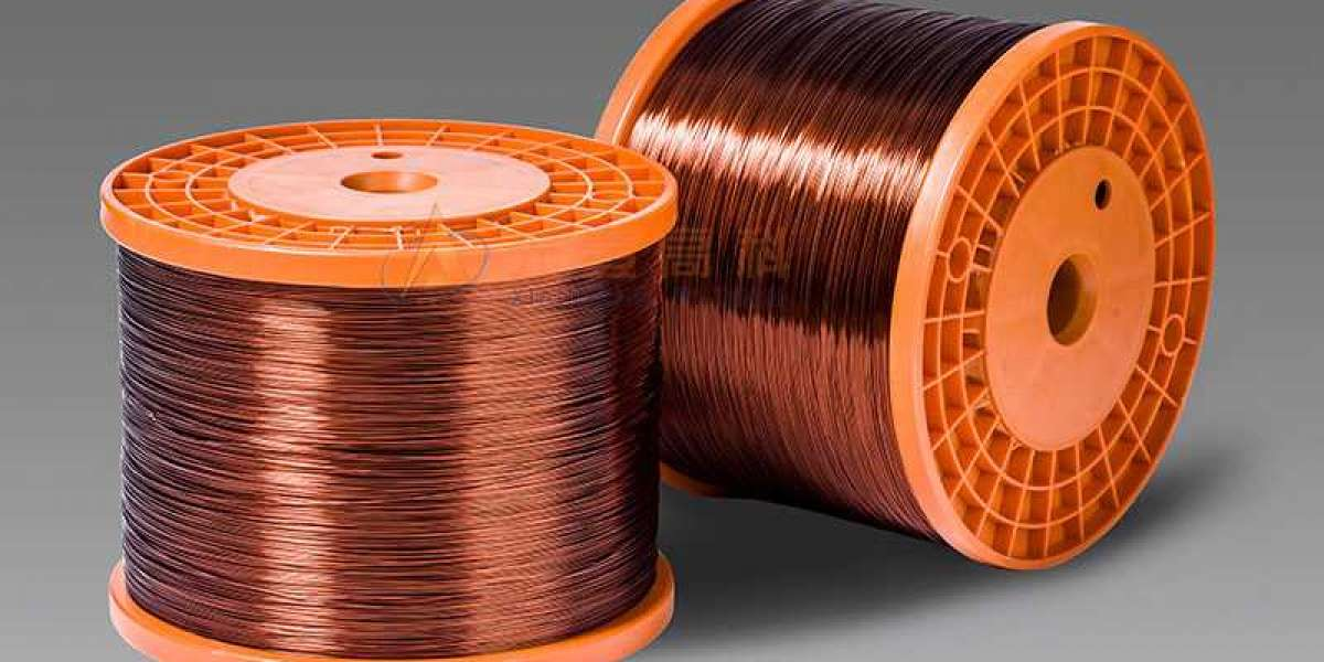 Copper Magnet Wire Has Compact Winding