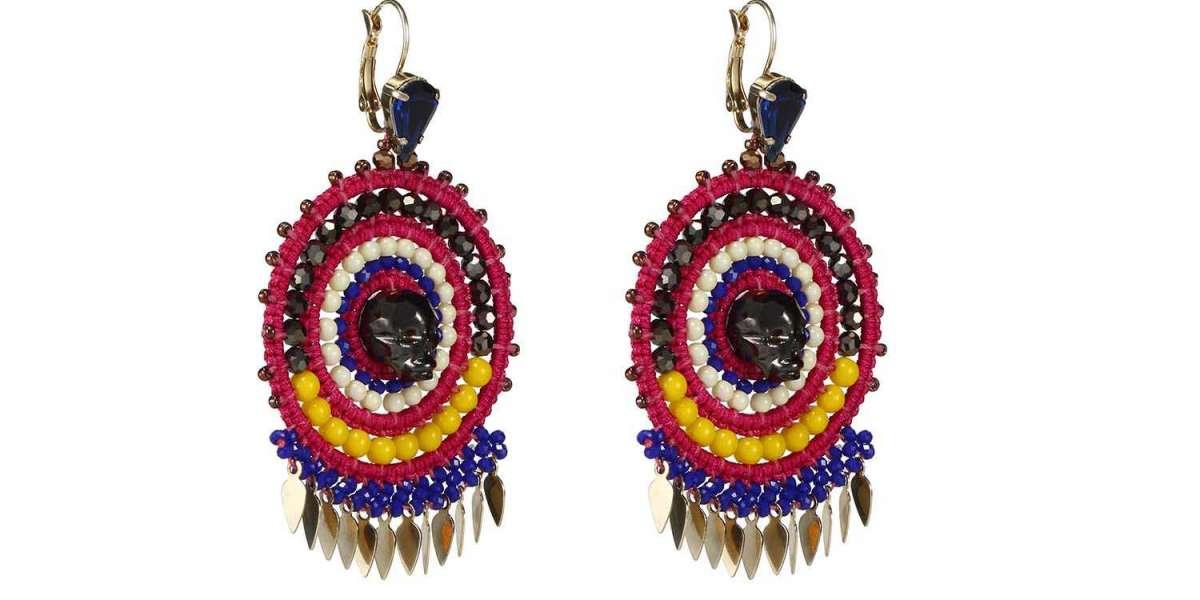 Tropical Fiesta Statement Earrings