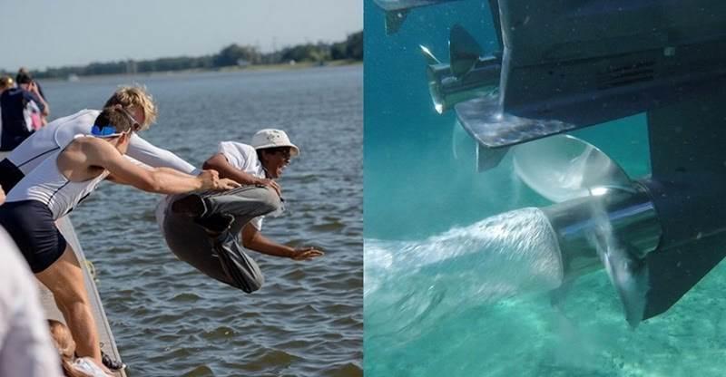 Aniversariante é empurrado do barco pelos amigos e morre triturado pela hélice
