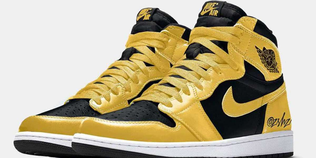 "Do you like this design of Air Jordan 1 High OG ""Pollen"" 555088-701"
