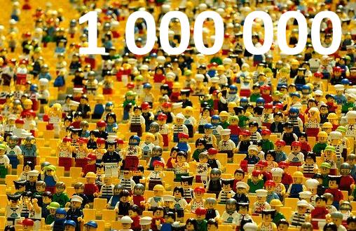Levelnaut. Million visitors – LevelNaut