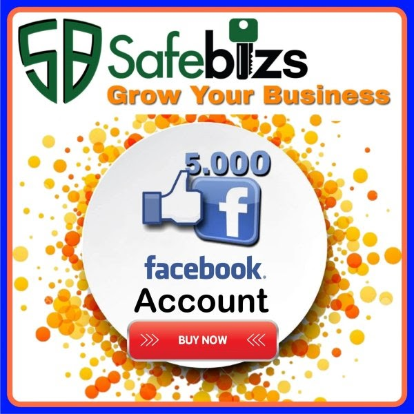 Buy Facebook Account with 5000 Friends