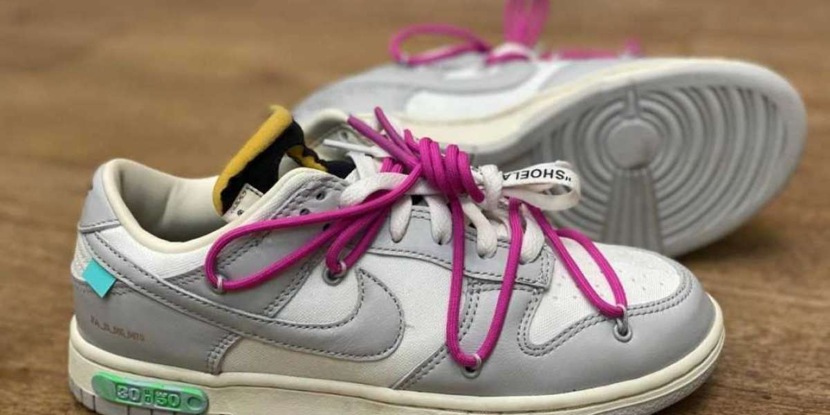 "2021 Release Off-White x Nike Dunk Low ""The 50"" Collection"