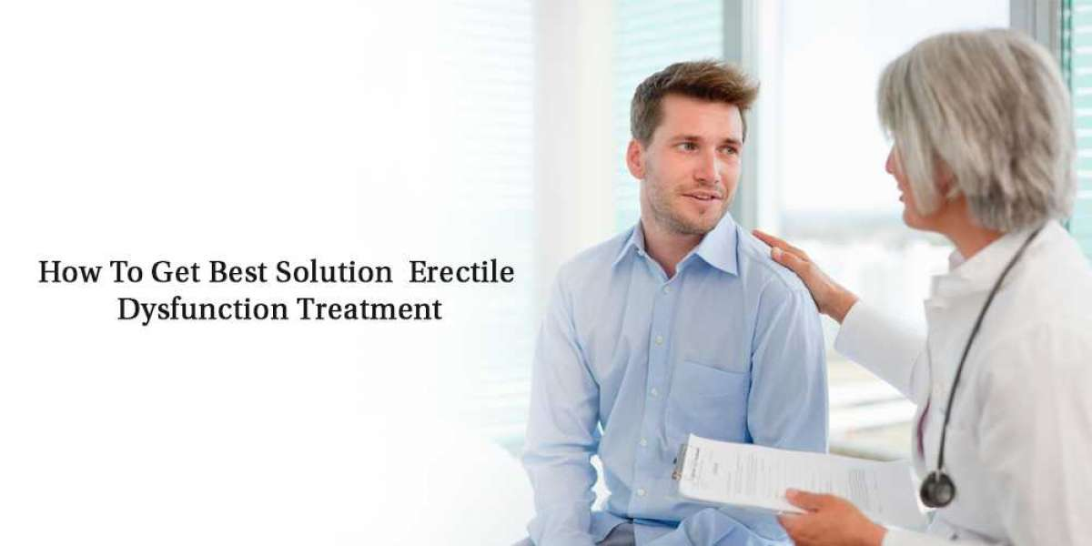 Erectile Dysfunction Effectively Treatment With Oral Pills
