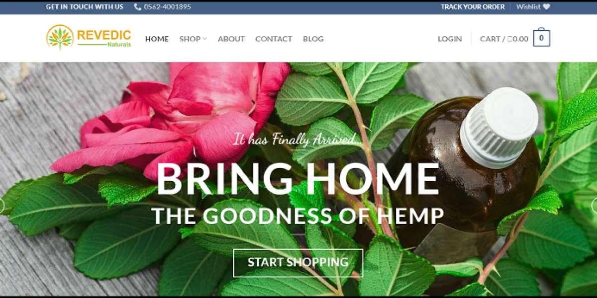 CSS Of Hemp Products Created By Revedic.Com