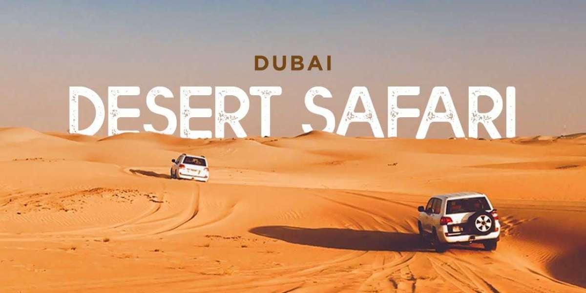 Enjoy An Amazing Desert Safari To The Royal Palm Of Dubai
