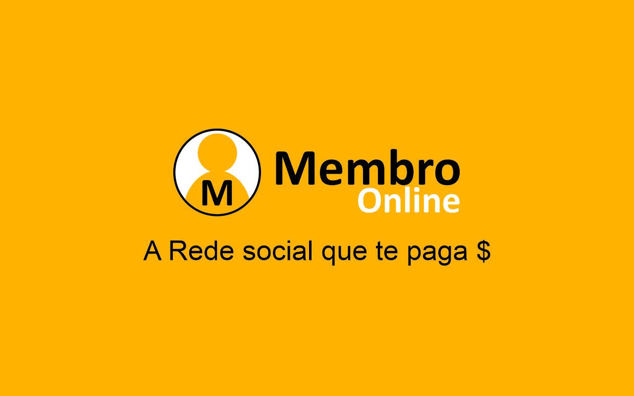 Membro Online - A Rede social que te paga $