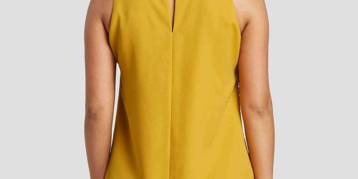 V-Neck Plain Long Sleeve Grey T-Shirt